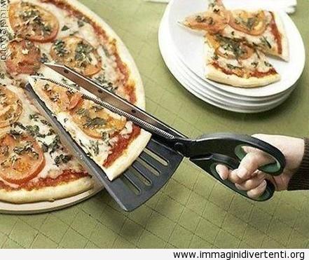 Forbici per la pizza immaginidivertenti.org