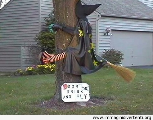 La strega non l'aveva visto l'albero immaginidivertenti.org