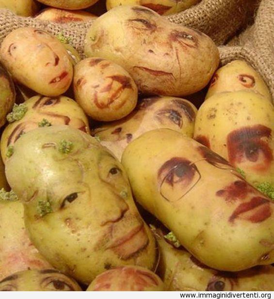 Guardare sempre all'interno del sacco di patate prima di acquistare immaginidivertenti.org