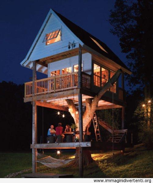 Casa epica su un'albero immaginidivertenti.org