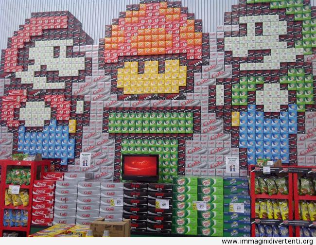 Il gestore di questo supermerco sarà pure un'artista immaginidivertenti.org