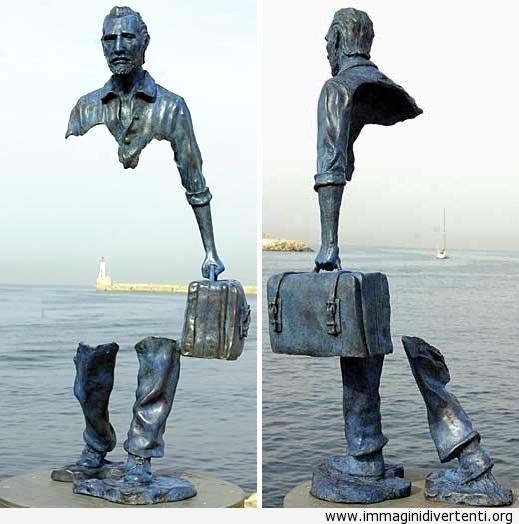 incredibile scultura immaginidivertenti.org