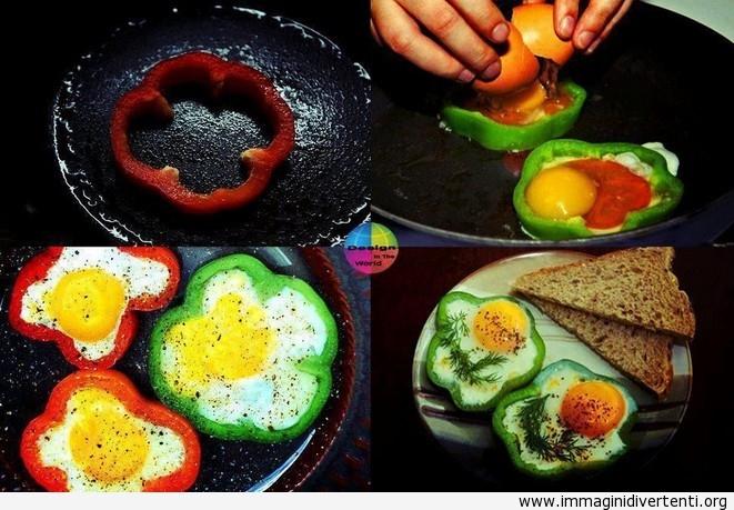 Un modo geniale per fare colazione! immaginidivertenti.org