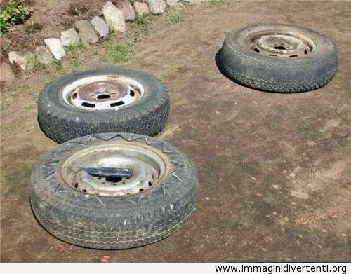 vecchi pneumatici immaginidivertenti.org