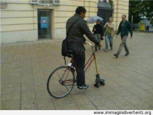 Andare al lavoro con in bicicletta immaginidivertenti.org