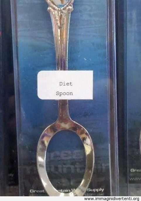Cucchiaio per dieta immaginidivertenti.org