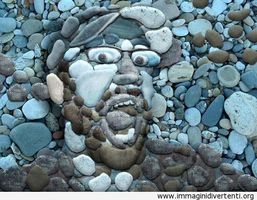 Faccia con gli sassi immaginidivertenti.org