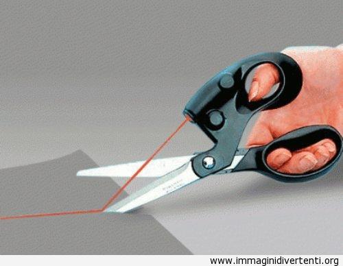 Forbici con il laser immaginidivertenti.org