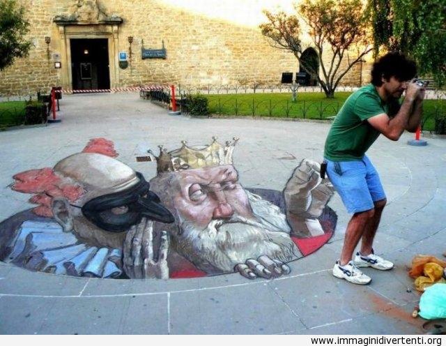 Il re che ruba immaginidivertenti.org