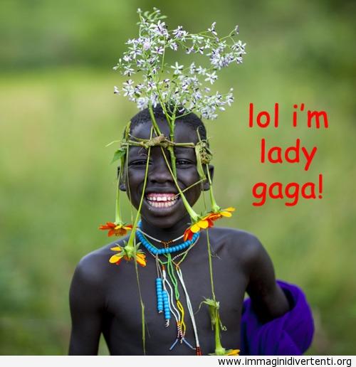 Lol, io sono Lady Gaga immaginidivertenti.org