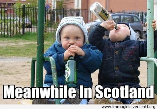 Nel frattempo in Scozia... immaginidivertenti.org