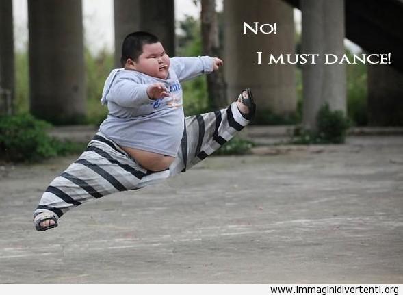 No! Devo ballare immaginidivertenti.org