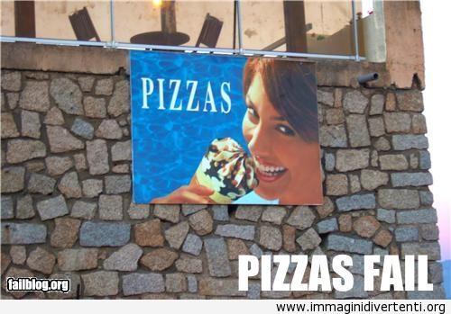 Pubblicità pizza Fail immaginidivertenti.org