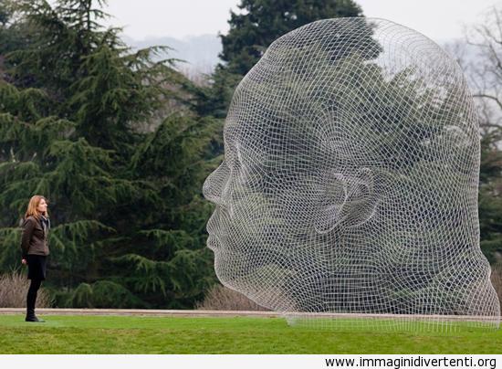 scultura wireframe immaginidivertenti.org