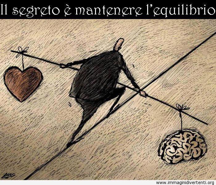 Il segreto è mantenere l'equilibrio immaginidivertenti.org