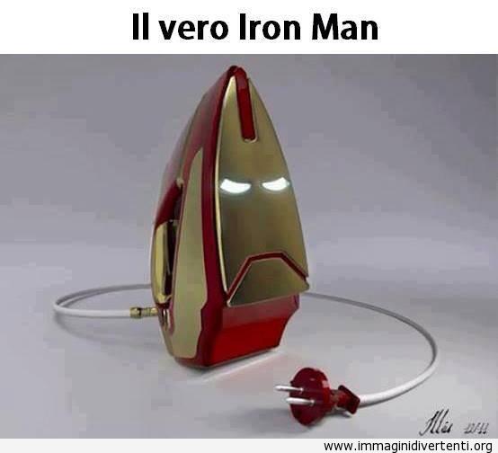 Il vero Iron Man immaginidivertenti.org