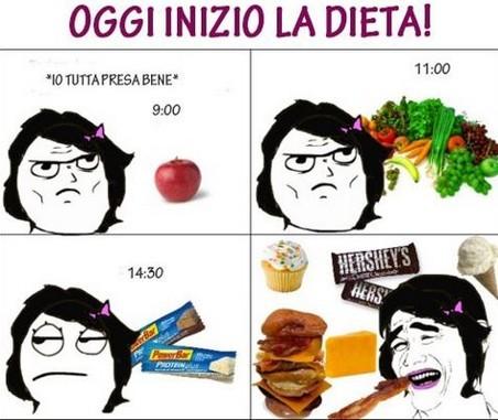 Oggi inizio la dieta! immaginidivertenti.org