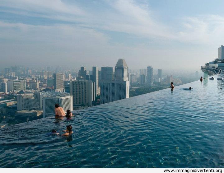 Piscina sul tetto, Singapore immaginidivertenti.org