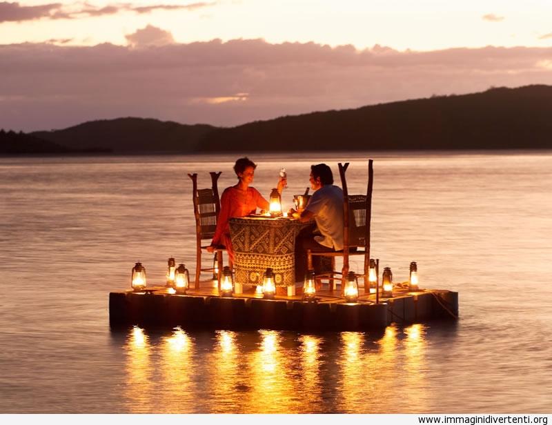 Romantica cena sul mare immaginidivertenti.org
