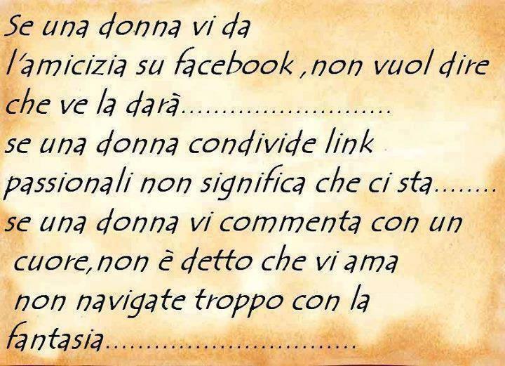 Se una donna vi da l'amicizia su facebook immaginidivertenti.org
