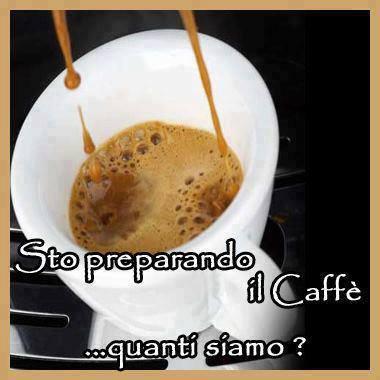 Sto preparando il caffè immaginidivertenti.org