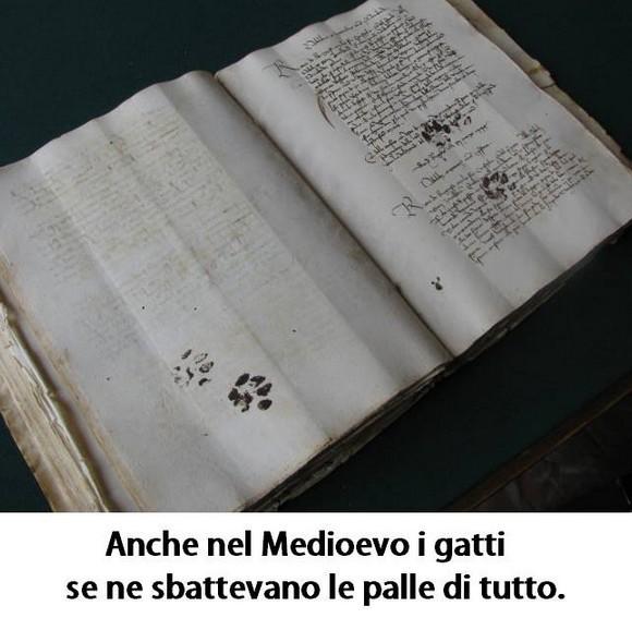 Anche nel Medioevo... immaginidivertenti.org