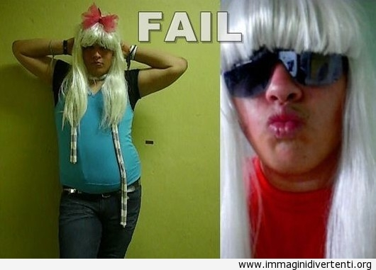 Fan di Lady Gaga - Fallito immaginidivertenti.org