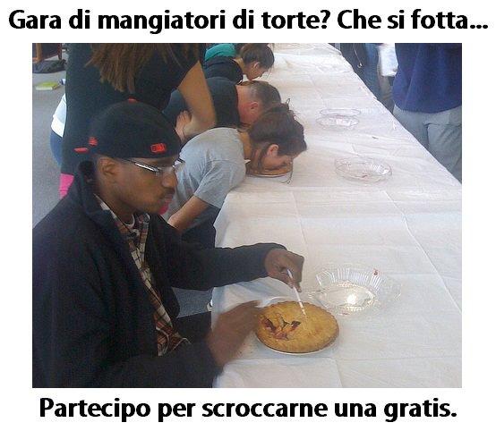 Gara di mangiatori di torte immaginidivertenti.org