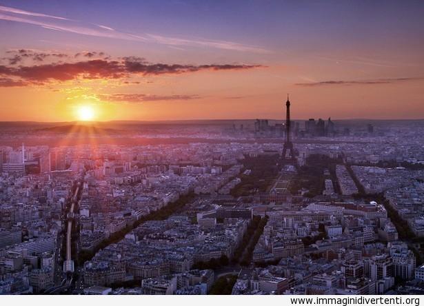 Tramonto di Parigi immaginidivertenti.org